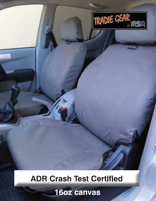 MSA Tradie Gear Canvas Seat Covers - Price on application