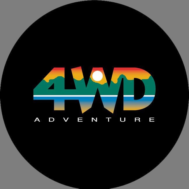 "Spare Wheel Cover - ""4WD Adventure"""